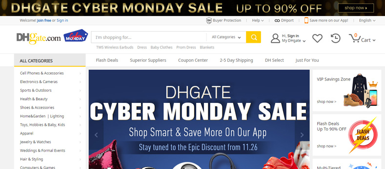 dhgate-black-friday-cyber-monday